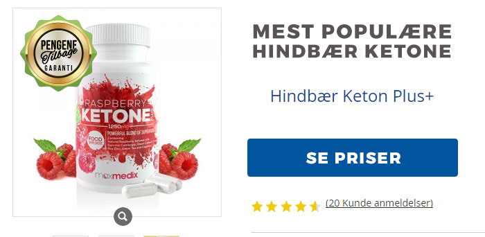 hindbær keton