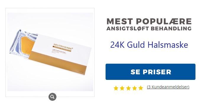 guld-halsmaske